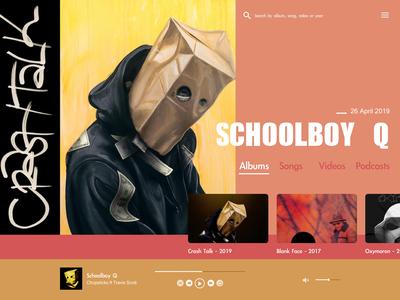 Schoolboy Q - New Album 2019 - Concept Fan page