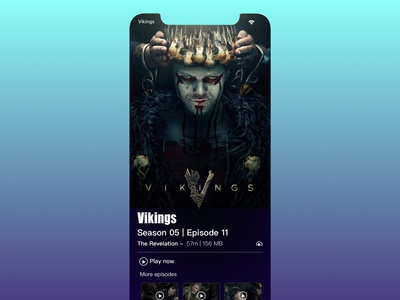 Vikings S05 - Mobile Interface Concept
