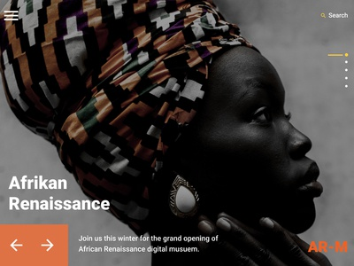 Afrikan Renaissance Museum - Concept