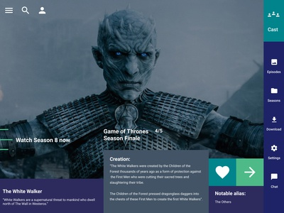 Game of Thrones - Playbook - The White Walker