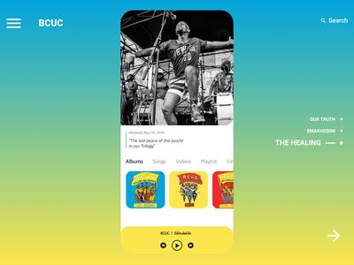 BCUC -  The Healing 2019 Album