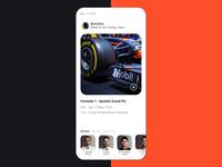 Formular 1 Fantasy  App - Concept