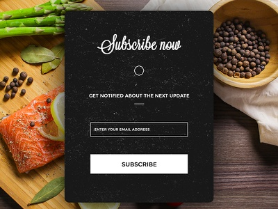 Daily UI : #026 // Subscribe popin form subscribe day26 ux ui dalyui