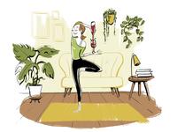 Wine Yoga