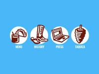 Taco Flats icons