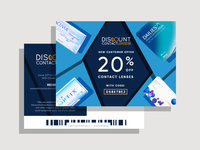 Discount Contact Lenses Pebble Post Direct Mailer