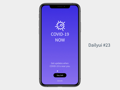 Dailyui #23 dailyuichallenge onboarding dailyui