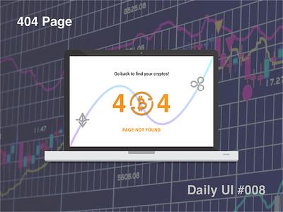 404 Page - #008 #dailyui 404 page dailyui