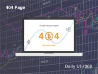 404 Page - #008 #dailyui