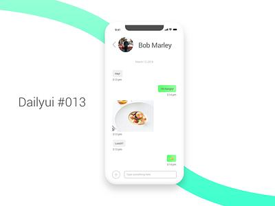 Dailyui #013 - Direct messaging direct messaging dailyui