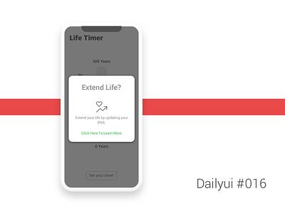Dailyui #016 - Pop-up/Overlay overlay pop-up dailyui