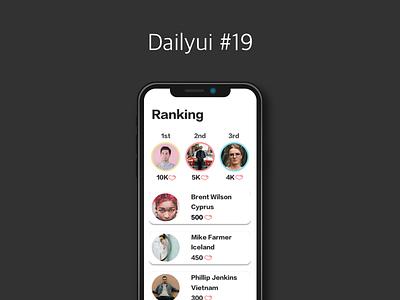 Dailyui #019 - Leaderborad leaderboard dailyui