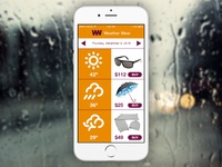 Daily UI: Weather (Day 37)