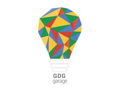 GDG garage logo google illustration graphic design design logo
