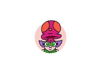 Day 28 outline iconography illustration vector chowder cartoon network truffles icon design icon day 28