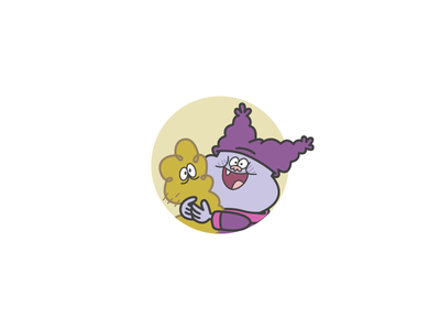 Day 32 outline iconography illustration vector chowder cartoon network kimchi icon design icon day 32