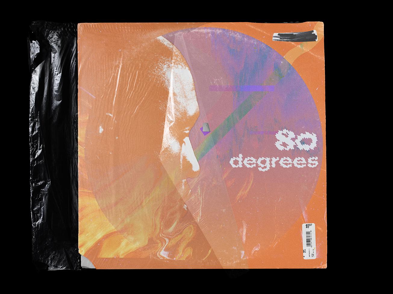 80 Degrees Album Cover by Charlie Lederer   Dribbble   Dribbble