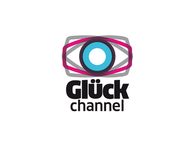 Gluck channel logo hypebang design sicilia web tv immagine coordinata gluck channel maurizio schifano corporate identity