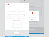 Broker Portal Setup Experience