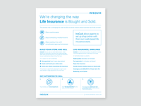 Marketing One-Pager for Insurance Brokers