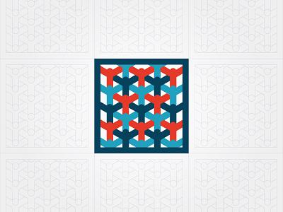 Human pattern idea humanity unity minimal icon logo people pattern