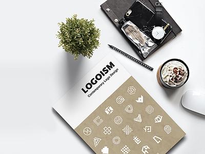 LOGOISM: Contemporary Logo Design branding design packaging logo identity illustration color type visual identity book sandu gingko