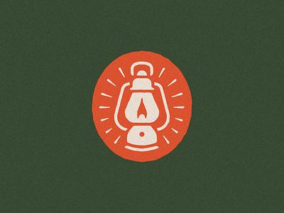Lantern vintage explorer outdoors discover adventure explore badge branding typography vector icon illustration logo lantern