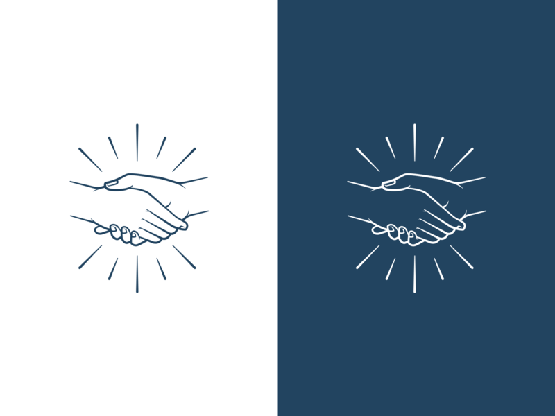 Handshake #3 brand vector hand hands handshake mark symbol design icon illustration branding logo