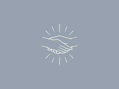 Handshake #5 brand design icon vector mark symbol illustration branding logo handshake