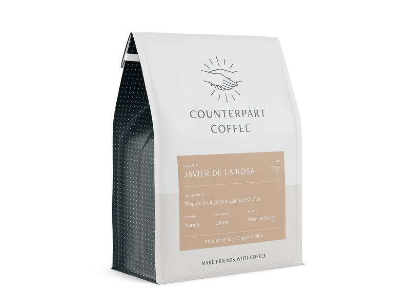 Coffee Bag 2 typography clean coffee shop vector design package mockup package design coffee bag coffee branding