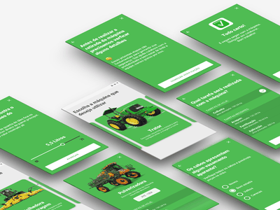 Aegro App Challenge | Machine checklist android ux design ui product mobile interaction app