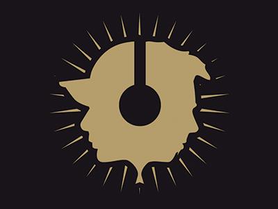 Ikeman & Funky-T DJ Logo duo logo music dj