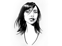 Pj Harvey Drawing