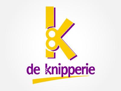 Knipperie logo logo hairdresser