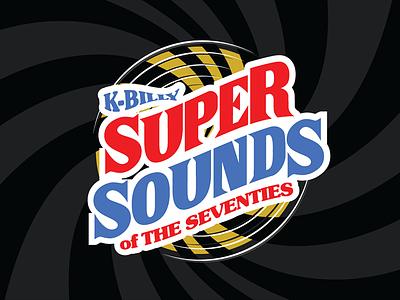 K Billy Super Sounds of the Seventies shirt design shirtdesign shirts shirt logo vinyl record records rock fmrock station movie dogs reservoir tarantino disco funk radio seventies
