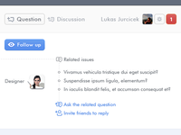 Question & Answer UI