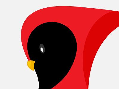 Cardinal Logo bird red app icon logo cardinal
