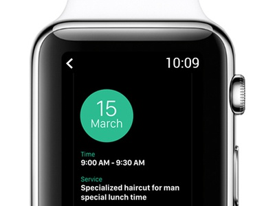 Apple Watch - Booking