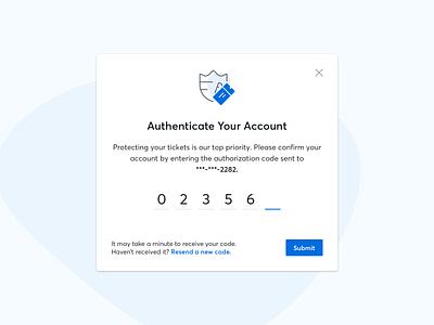 Two-Factor Authentication ui design design ux ui two factor authentication verification authentication code