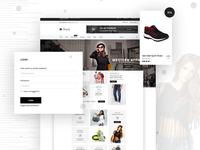 Modern eCommerce Website Design
