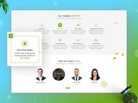 Garden Website Design - 02
