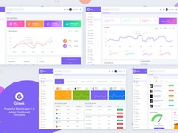 Gleek Dashboard - Powerful Bootstrap 4.1.3 Admin Template