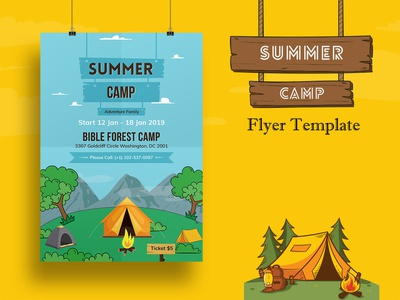 Summer Camp Flyer Template-02
