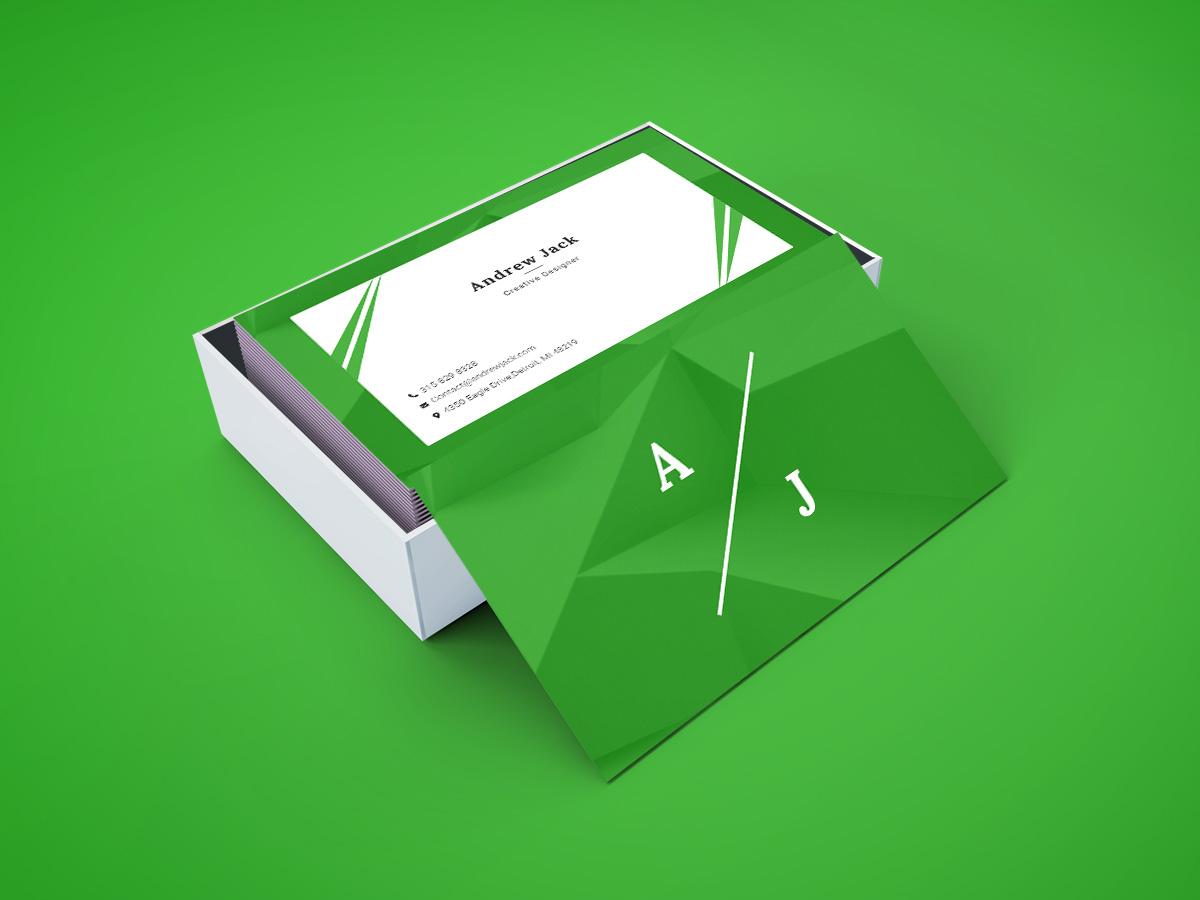Creative Designer Business Card vcard print branding company corporate template businesscard flyer poster minimal creative designer