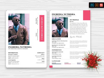 Resume CV Template-35