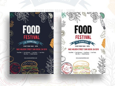 Food Festival Flyer Template-03