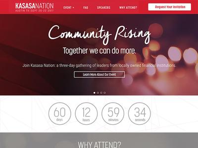 Kasasa Nation 2017 Website