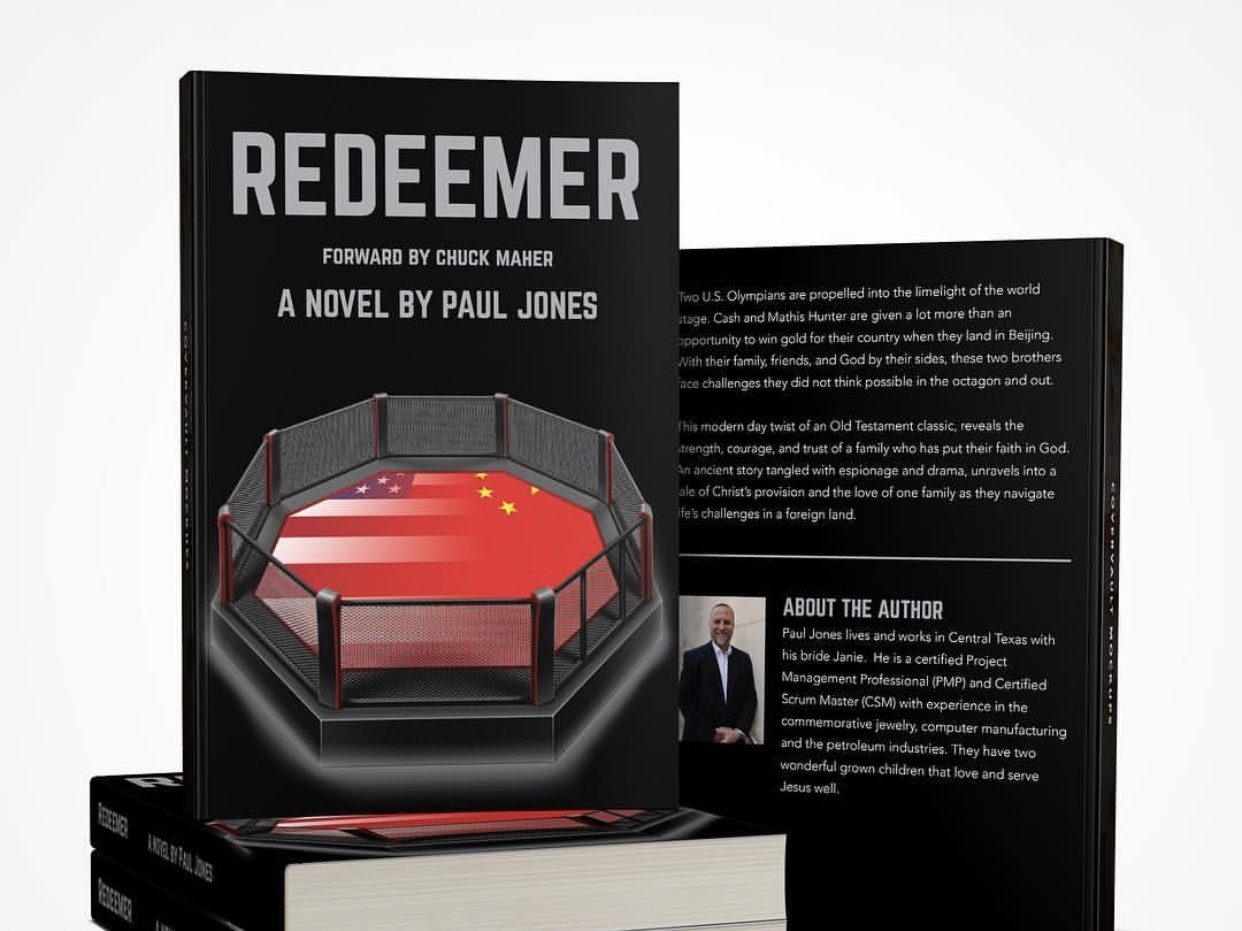 Redeemer Book Cover biblical bible ruth olympics america china ring mma book design cover book cover design book