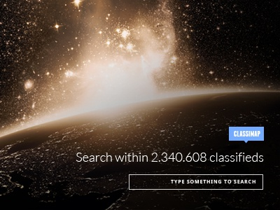 Classimap Homepage