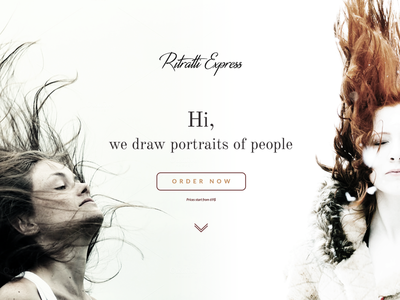 Ritratti Express Homepage